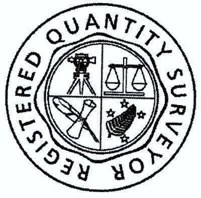 registered quantity surveyors